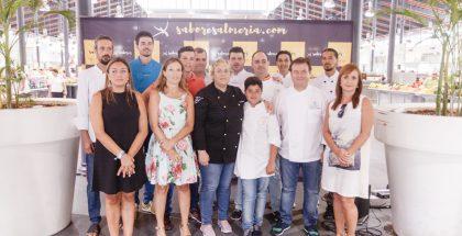 Participantes en Espacio Gastronomía de Feria 2017.